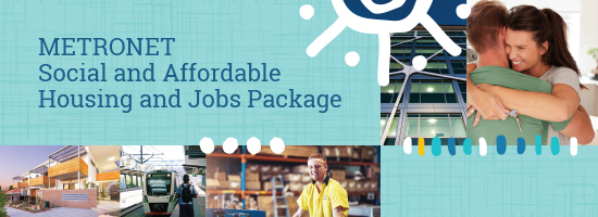 METRONET Social Affordable Housing Jobs Package banner