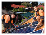 Solar panel trial for public housing properties
