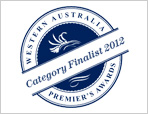 Department finalists in 2012 Premier's Awards